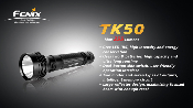 Fenix TK50 LED Flashlight