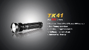Fenix TK41 LED light - AA - 800 Lumens