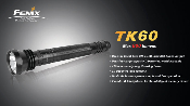 Fenix TK60 LED Flashlight