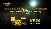 Fenix HP20 Headlamp - 230 Lumens