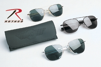 "AMERICAN OPTICS 55MM ""ORIGINAL PILOTS"" SUNGLASSES"