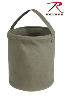 ROTHCO CANVAS LARGE WATER BUCKET - OLIVE DRAB