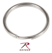 "1"" SPLIT RING / NICKEL - 25 PACK"