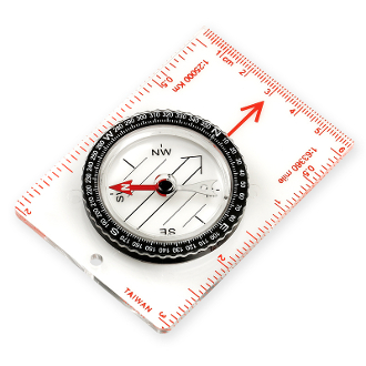 NDUR Small Map Compass