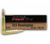 PMC .223 Remington 55 Grain FMJ - 20rd box