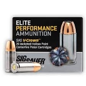 Sig Sauer 357 Sig 125 Gr. Elite V-crown JHP - 20 rd Box