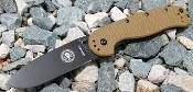 BRK Avispa - ESEE designed - Frame Lock Folder - Coyote Brown