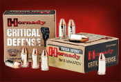 Hornady Critical Defense 9x18mm Makarov 90gr FTX - 25 rd box