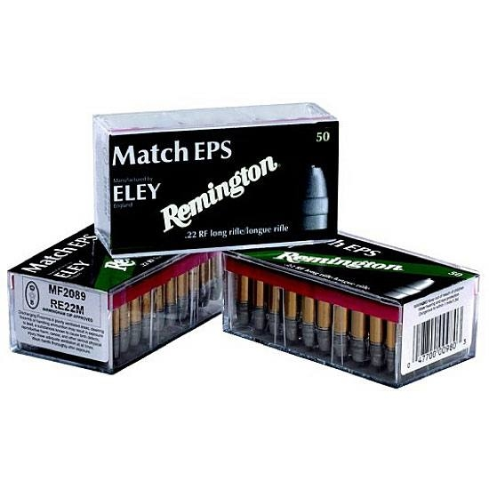 REMINGTON-ELEY.22LR Match EPS 40gr - 100rds (50rds x 2)