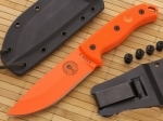 ESEE Model 5 - Orange Blade/Orange Micarta - Plain