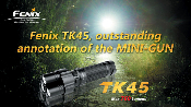 Fenix TK45 LED Flashlight - AA - 760 Lumens