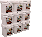 Wise 1080 serving package - 4 adults 3 Month food supply