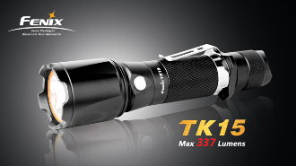 Fenix TK15 LED flashlight