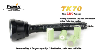 Fenix TK70 LED Flashlight