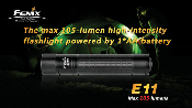 Fenix E11 LED single AA flashlight