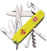 Victorinox Climber Boy Scout Knife - Stayglow