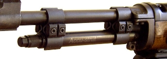 Accu-Strut LT Barrel strut for Ruger Minis - Black