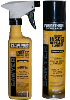 Permethrin Premium Insect Repellent - 12oz Trigger Spray