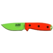 ESEE Model 3 - Venom Green Blade - Plain