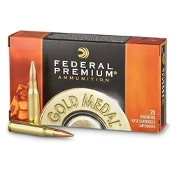 Federal Premium Gold Medal .308 WIN 168 gr BTHP - 20rd box