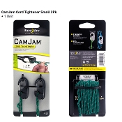 Nite Ize CamJam Small Cord Tightener w/ rope - 2 Pack