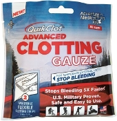 "QUIKCLOT ADVANCED CLOTTING GAUZE 3"" X 24"" (2)"