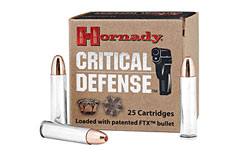 Hornady Critical Defense 30 M1 Carbine 110gr FTX- 25 rd Box