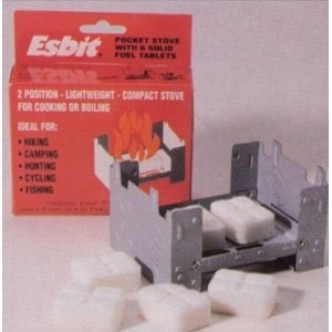 ESBIT Pocket Stove w/ fuel